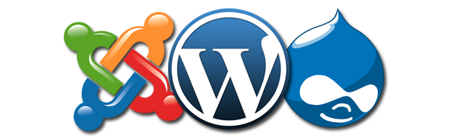 Drupal, WordPress, or Joomla Development